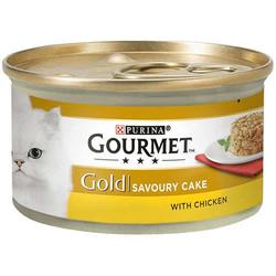 Gourmet - Gourmet Gold Savoury Cake Tavuklu Kedi Konservesi 85 Gr
