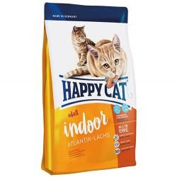 Happy Cat - Happy Cat Indoor Tüy Yumağı Kontrol Kedi Maması 3+1 Kg (Toplam 4 Kg)