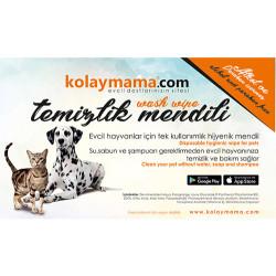 Happy Cat Kitten Kümes Hayvanı ve Somonlu Yavru Kedi Maması 1,4 Kg+2 Adet Temizlik Mendili - Thumbnail