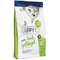 Happy Cat - Happy Cat Land Geflügel Organik Tavuklu Kedi Maması 3+1 Kg (Toplam 4 Kg)