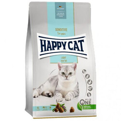 Happy Cat - Happy Cat Sensitive Light Düşük Kalori Diyet Kedi Maması 3 + 1 Kg