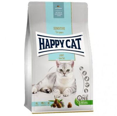 Happy Cat Sensitive Light Düşük Kalori Diyet Kedi Maması 3 + 1 Kg