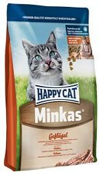 Happy Cat - Happy Cat Minkas Geflügel Tavuklu Kedi Maması 1,5 Kg+2 Adet Temizlik Mendili