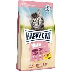 Happy Cat - Happy Cat Minkas Kitten Yavru Kedi Maması 1,5 Kg+2 Adet Temizlik Mendili