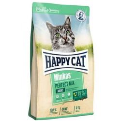 Happy Cat - Happy Cat Minkas Perfect Mix Kedi Maması 10 Kg+10 Adet Temizlik Mendili