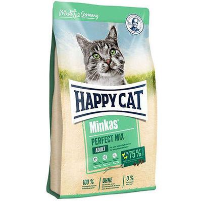 Happy Cat Minkas Perfect Mix Kedi Maması 1,5 Kg+2 Adet Temizlik Mendili