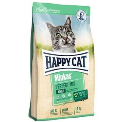 Happy Cat Minkas Perfect Mix Kedi Maması 10 Kg + 10 Adet Temizlik Mendili