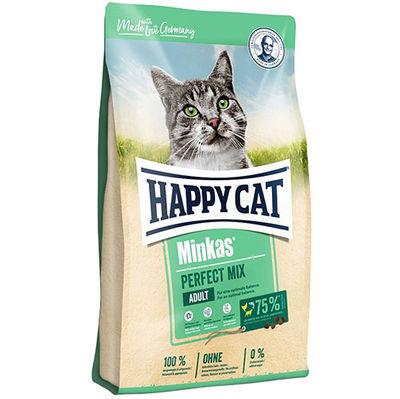 Happy Cat Minkas Perfect Mix Tavuk Kuzulu Kedi Maması 3 + 1 Kg (Toplam 4 Kg)