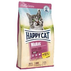 Happy Cat - Happy Cat Minkas Sterilised Kısırlaştırılmış Kedi Maması 1,5 Kg + 2 Adet Temizlik Mendili