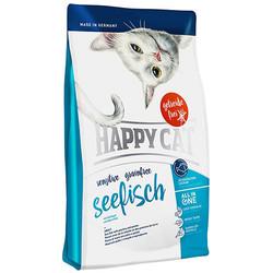 Happy Cat - Happy Cat Seefisch Okyanus Balıklı Sensitive Tahılsız Kedi Maması 3+1 Kg