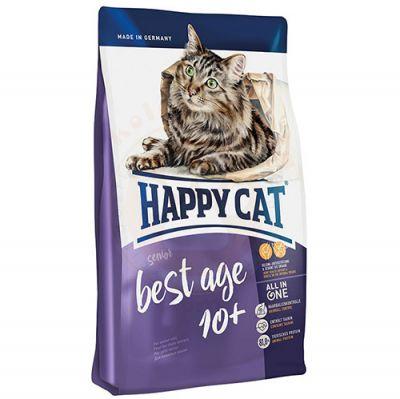Happy Cat Senior 10 Yaş ve Üzeri Yaşlı Kedi Maması 1,4 Kg+2 Adet Temizlik Mendili