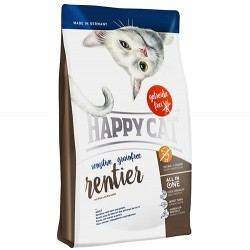 Happy Cat - Happy Cat Sensitive Ren Geyikli Tahılsız Kedi Maması 3+1 Kg (Toplam 4 Kg)