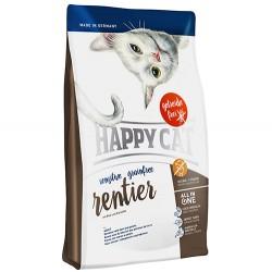 Happy Cat - Happy Cat Sensitive Ren Geyikli Tahılsız Kedi Maması 3+1 Kg