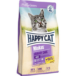 Happy Cat - Happy Cat Minkas Urinary Care İdrar Yolu Sağlığı Kedi Maması 10 Kg+10 Adet Temizlik Mendili