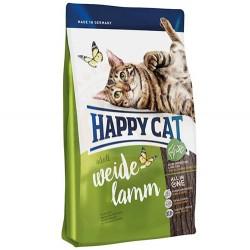 Happy Cat - Happy Cat Weide Lamm Kuzu Etli Kedi Maması 1,4 Kg + 2 Adet Temizlik Mendili