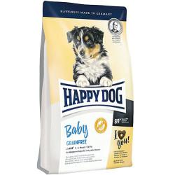 Happy Dog - Happy Dog Baby Grainfree Tahılsız Yavru Köpek Maması 10 Kg + 10 Adet Temizlik Mendili