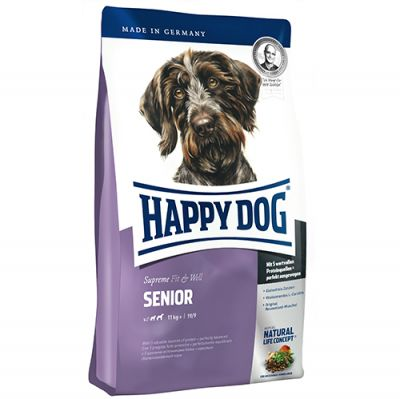 Happy Dog Fit & Well Senior Yaşlı Köpek Maması 12 Kg + 10 Adet Temizlik Mendili