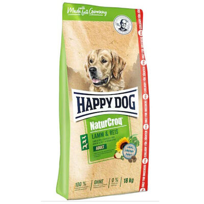 Happy Dog NaturCroq Kuzu Etli Köpek Maması 15 Kg + 3 Kg (Toplam 18 Kg)