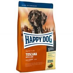 Happy Dog - Happy Dog Toscana Kuzu ve Somonlu Köpek Maması 12,5 Kg+10 Adet Temizlik Mendili