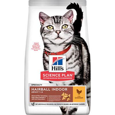 Hills Hairball / Indoor Tüy Yumağı Kontrol Tavuklu Kedi Maması 1,5 Kg + 2 Adet Temizlik Mendili