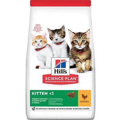 Hills Kitten Tavuk Etli Yavru Kedi Maması 3 Kg + 5 Adet Temizlik Mendili
