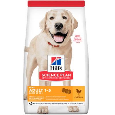 Hills Light Large Breed Büyük Irk Diyet Köpek Maması 14 Kg+10 Adet Temizlik Mendili