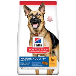 Hills - Hills Mature 6+ Tavuklu Büyük Irk Yaşlı Köpek Maması 14 Kg