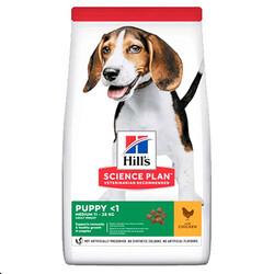 Hills - Hills Medium Orta Irk Tavuk Etli Yavru Köpek Maması 2,5 Kg + 5 Adet Temizlik Mendili