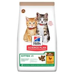Hills - Hills No Grain Kitten Chicken Tavuk Etli Tahılsız Yavru Kedi Maması 1,5 Kg