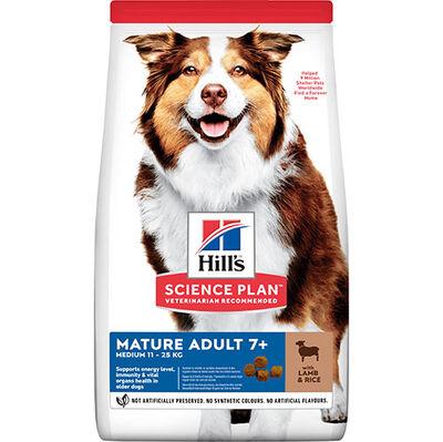 Hills Senior +7 Kuzu Etli Yaşlı Köpek Maması 2,5 Kg