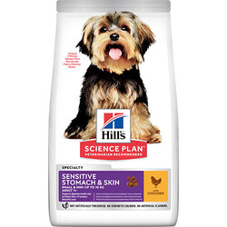 Hills - Hills Small Mini Sensitive Küçük Irk Köpek Maması 1,5 Kg+5 Adet Temizlik Mendili