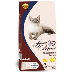 How Meow - How Meow Premium Kuzu Etli Yetişkin Kedi Maması 15 Kg