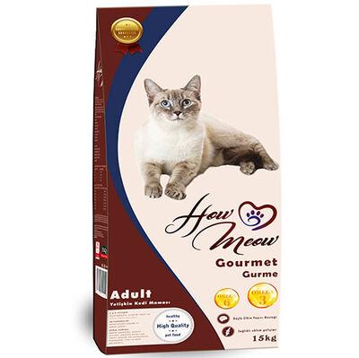 How Meow Premium Kuzu Etli Yetişkin Kedi Maması 15 Kg