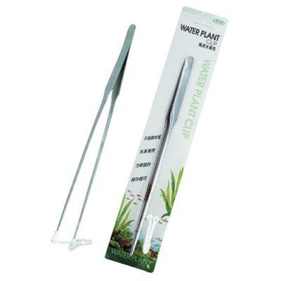 Ista I541 Çelik Bitki Tutma Maşası Plastik Yatay Aparatlı 27 Cm
