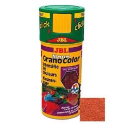 JBL - JBL Novo Grano Color Click Granulat Balık Yemi 250 ML
