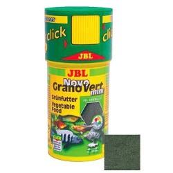 JBL - JBL Novo Grano Vert Mini Yeşil Granül Balık Yemi 100 ML.