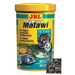 JBL - JBL Novo Malawi Alg Yiyici Yosun Cichlid Yemi (S. Platensis)+Plankton 250 ML (40 Gr)