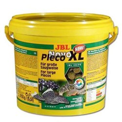 JBL - JBL Novo Pleco XL Chips Balık Yemi 5.5 Lt (3 Kg)