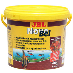 JBL - JBL Novobel Temel Pul Balık Yemi 10.5 Lt (1995 Gr)