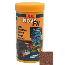 JBL - JBL Novofil (Blood Worms) Kurutulmuş Kırmızı Sivrisinek Larvası 100 ML (8 Gr)