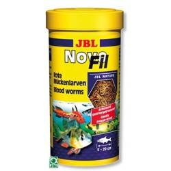 JBL - JBL Novofil Rote Mückenlarven (Blood Worms) Kırmızı Sivrisinek Larvası 250 ML