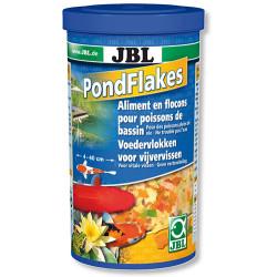 JBL - JBL Pond Flakes Balık Havuz Pul Yem 1000 ML (140 Gr)