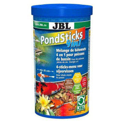JBL - JBL Pond Sticks 4 in 1 Balık Havuz Çubuk Yem 1000 ML (160 Gr)