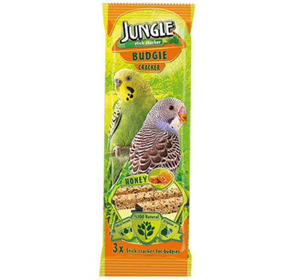 Jungle Ballı Muhabbet Kuşu Krakeri (3'lü Paket) - 3 x 28 Gr