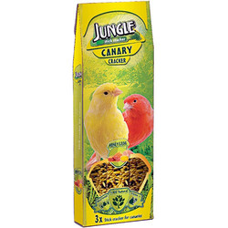 Jungle - Jungle Ballı ve Yumurtalı Kanarya Krakeri (3lü Paket)-3x35 Gr