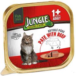 Jungle - Jungle Dana Etli Ezme / Pate Kedi Yaş Maması 100 Gr