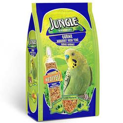 Jungle - Jungle Gurme Muhabbet Kuşu 400 Gr + Kraker