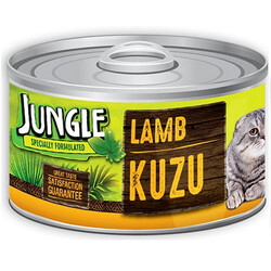 Jungle - Jungle Kuzu Etli Kedi Konservesi 85 Gr