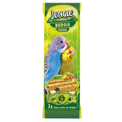 Jungle Meyveli Muhabbet Kuşu Krakeri (3lü Paket)-3x35 Gr