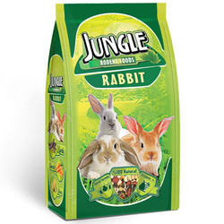Jungle - Jungle Natural Tavşan Yemi 500 Gr
